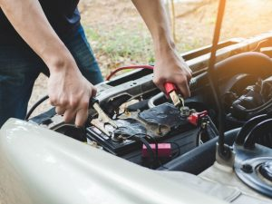 Charge a Car Battery with Jumper Cables