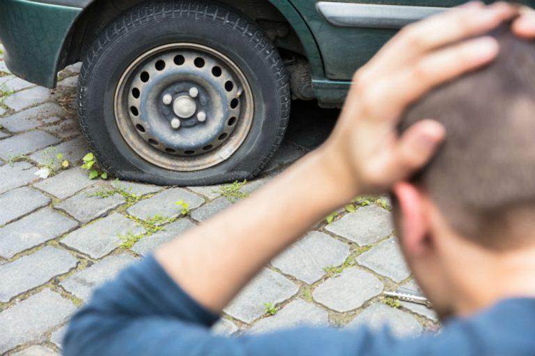 Patch a Car Tire