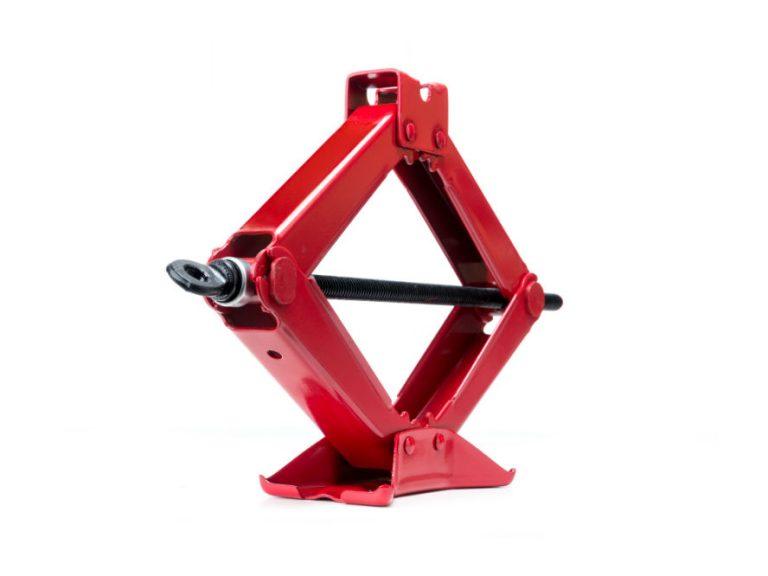 Red Steel Scissor Jack