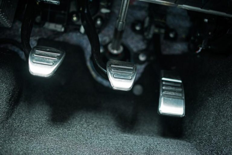 Car brake pedal