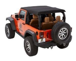 Bestop Black Diamond Trektop NX Glide Convertible Soft Top for Jeep