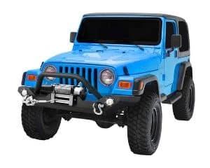 LEDKINGDOMUS Rock Crawler Jeep Front Bumper