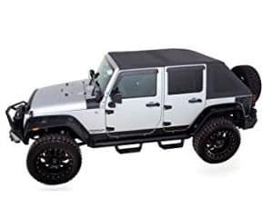 RAMPAGE PRODUCTS Black Diamond Jeep Soft Top