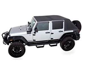 RAMPAGE PRODUCTS Black Diamond Jeep Soft Top
