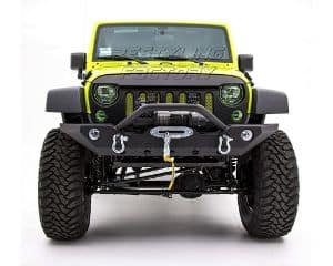 Restyling Factory Black Textured Jeep Front Bumper
