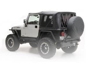 Smittybilt Black Diamond OE Style Soft Top for Jeep