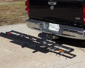 Titan Ramps Motorcycle Carrier Rack Hitch Hauler Ramp