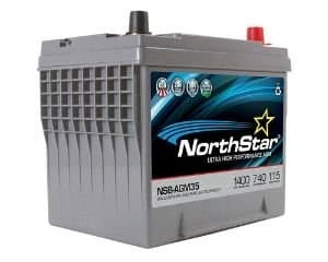 Northstar NSB-AGM35 Battery for Ford F150
