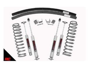 Rough Country 670N2 Lift Kit for Jeep Wrangler