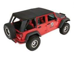 Bestop Trektop Pro Hybrid Soft Top for Jeep