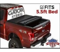 Gator Hybrid Hard Folding Tonneau Cover for F150