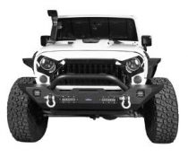 Hooke Road Textured Black Jeep Bumper