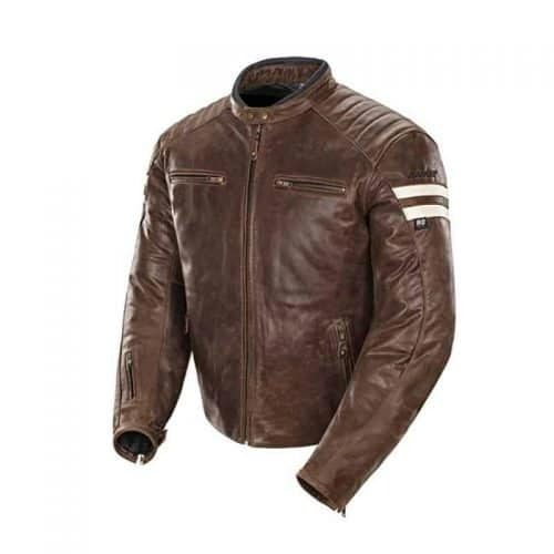 Joe Rocket 1326-2304 Classic 92' Men's Leather Motorcycle Jacket