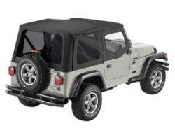 Pavement Ends Black Diamond Soft Top for Jeep
